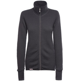 Woolpower Full Zip Jacket 400 middenlaag woljas zwart